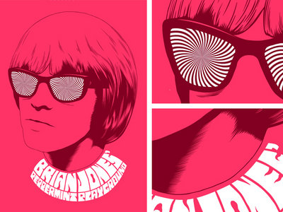 Brian Jones Peppermint Playground - Poster (A3) main photo