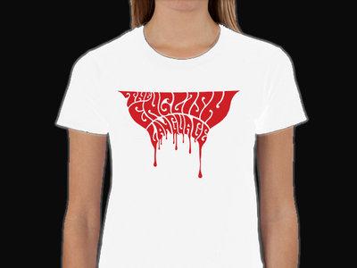 Blood Logo White (Ladies) main photo