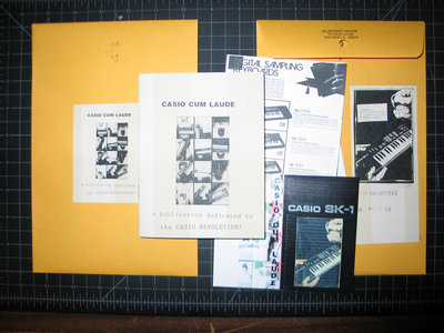 Casio Cum Laude zine - Limited Edition Zine w/ Compilation Download main photo