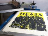 HEADS. Berghain Kantine Screenprint photo