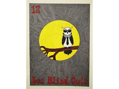"""Los Blind Owls"" Poster Print main photo"