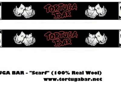 "TORTUGA BAR ""SCARF"" (100% Real Wool) IMPERIUM GALORE TOUR main photo"
