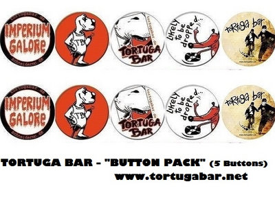 "TORTUGA BAR ""BUTTON PACK"" IMPERIUM GALORE TOUR main photo"