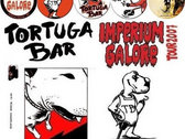 "TORTUGA BAR ""BUTTON PACK"" IMPERIUM GALORE TOUR photo"