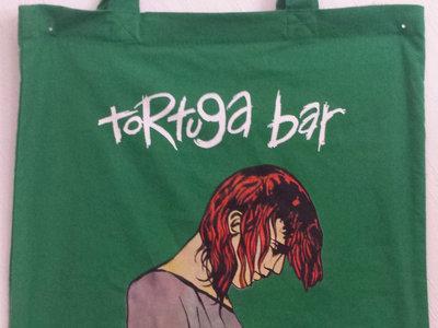 TORTUGA BAR Tote Bag (Black, Red, Green) main photo