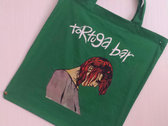 TORTUGA BAR Tote Bag (Black, Red, Green) photo