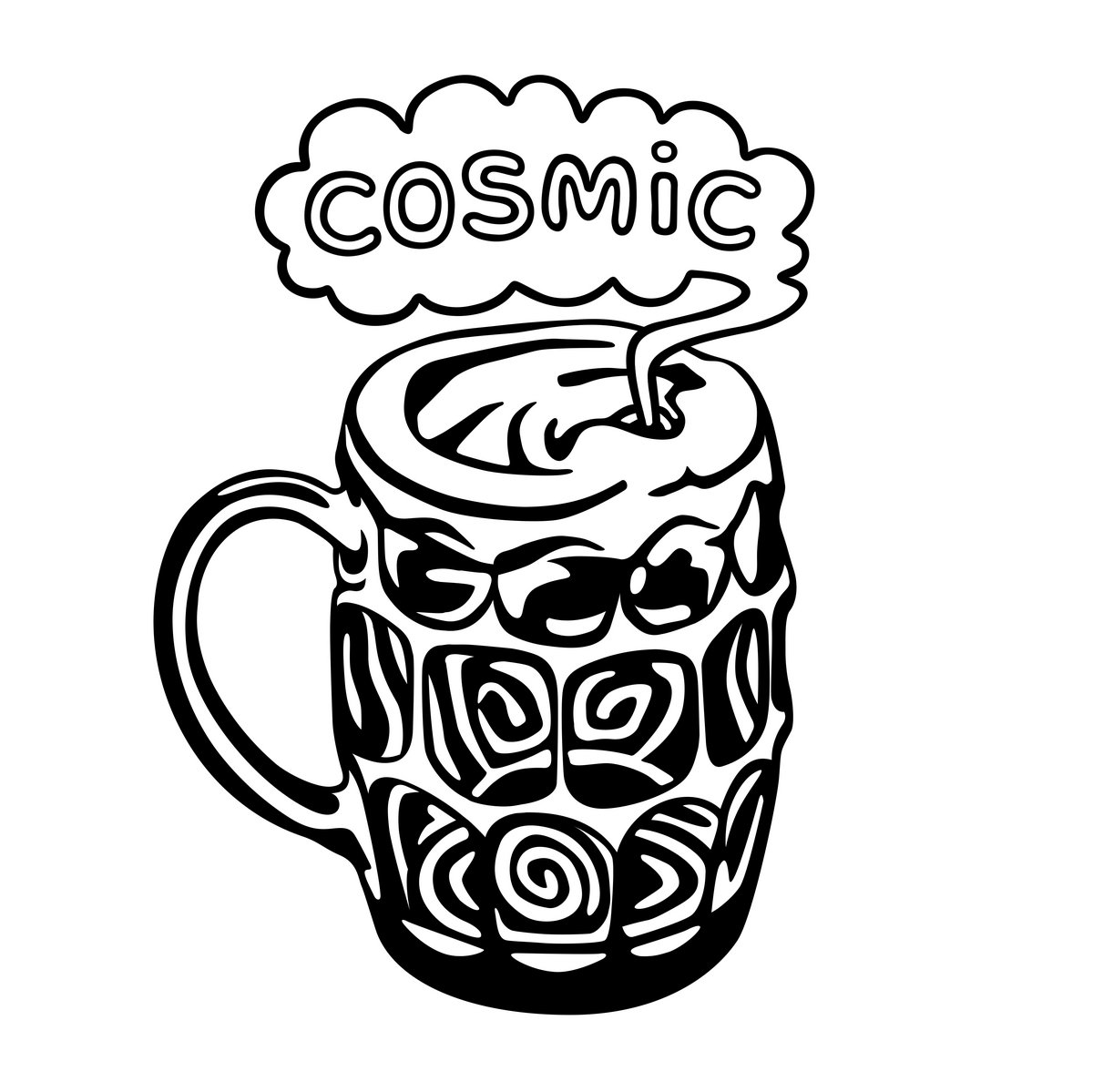 Cosmic Pint Glass
