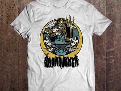 Poseidon Design T-shirt - White main photo