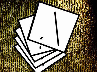 10 Transparent Vinyl Stickers of InchPerSecond Logo main photo