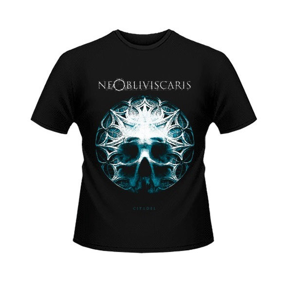 Skull Glass T Shirt Ne Obliviscaris