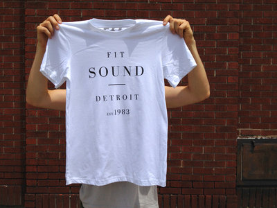 FIT SOUND T-SHIRT - UNISEX WHITE main photo