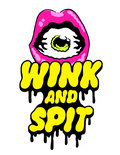 WINK AND SPIT image