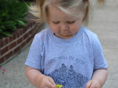 There Will Be Rest Toddler Tee main photo