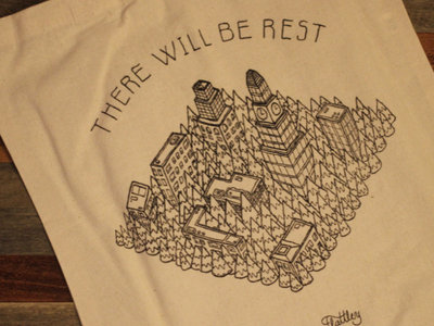 There Will Be Rest Tote main photo