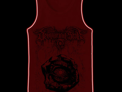 DEVOURING STAR - Death's Consummation tank-top / sleeveless XXL main photo