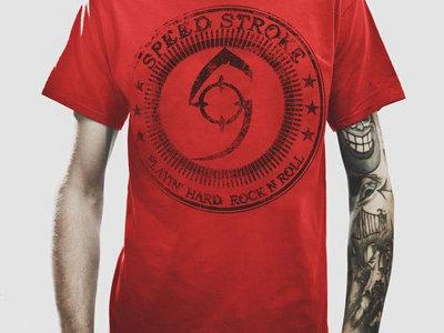 Playin' hard RED T-shirt main photo