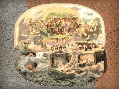 Norse Cosmos Poster main photo