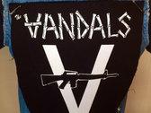 "Vandals Official  ""V-Gun"" Back Patch photo"