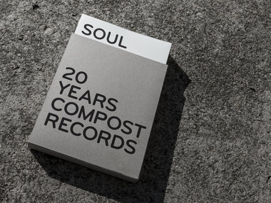»SOUL / LOVE. – 20 YEARS COMPOST RECORDS« – Book main photo