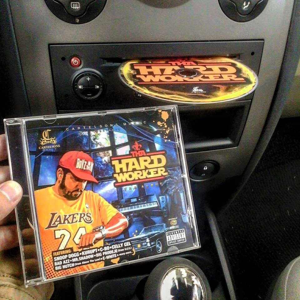 tha hardworker (album) *** only cd album*** (with snoop dogg, kurupt