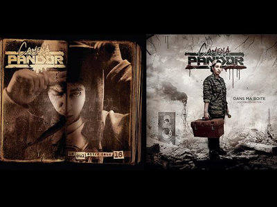 """PACK 2 CD """"Le cul entre deux 16"""" + """"Dans ma boite"""" main photo"""