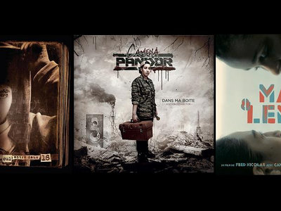 "PACK 3 CD ""Le cul entre deux 16"" + ""Dans ma boite"" + ""B.O Max & Lenny"" main photo"