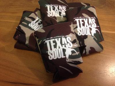 Camo Texas Soul Beer Koozie main photo