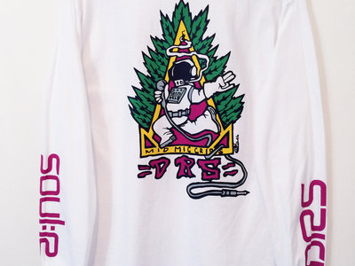 MC DRS Self designed limited  'Mid Mic Crisis' Long sleeve tee main photo
