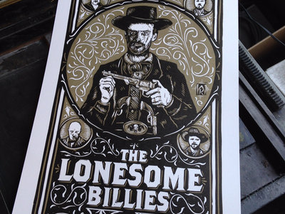 Limited Edition Linocut Poster - 11x17 main photo