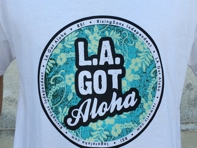 """LA Got Aloha Full Circle"" Tee (Mens) White main photo"