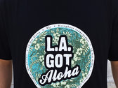"""LA Got Aloha Full Circle"" Tee (Mens) Black photo"