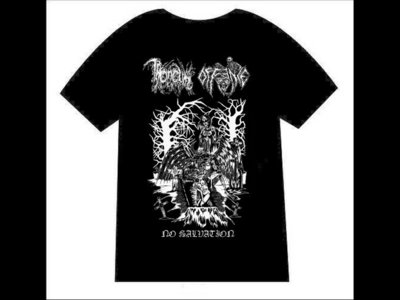 THRONEUM / OFFENCE - No Salvation T-shirt main photo