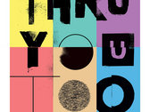 Kutiman - Thru You Too Print (Art by Dekel Hevroni // Limited Edition) photo