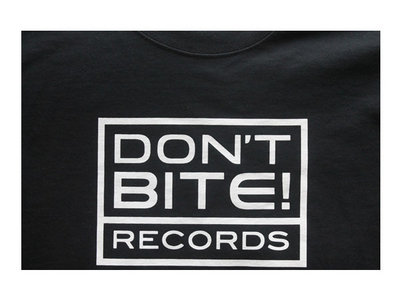 Don't Bite Records Black Cotton T-shirt. Limited Edition. main photo