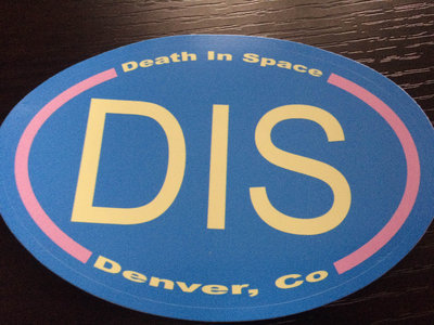 Oval Death In Space Sticker **Limited Edition** main photo