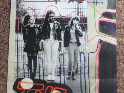 The Tuts limited edition glossy A3 Poster!!! Comes with free Poloroid Print! main photo