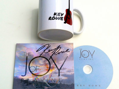 """Instrumental CD """"The Joy of Playing"""" and Coffee Cup - FREE SHIPPING! main photo"""