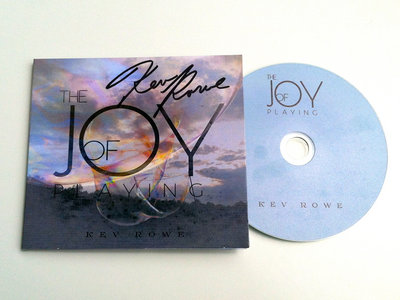 Autographed CD - The Joy of Playing (Instrumental) - FREE SHIPPING! main photo