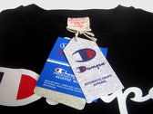 Authentic Daupe / Champion Limited edition T - Shirt BLACK photo