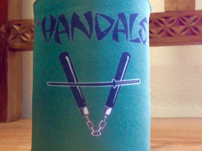 "Vandals ""Nun Chuck"" Beer Koozie by Chris Shary main photo"