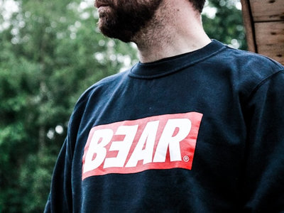 BEAR - OBEY crewneck (navy blue) main photo