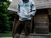 BEAR - HOODY (light grey heather) photo