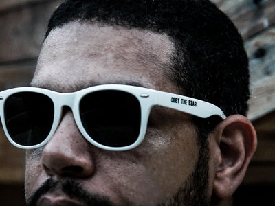 BEAR - OBEY SUNGLASSES (white, red, blue, lime, pink) main photo