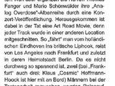 Fanger & Schönwälder: Analog Overdose - The Road Movie photo