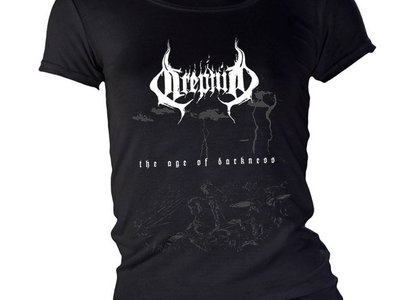 """""""The Age of Darkness"""" girlie t-shirt main photo"""