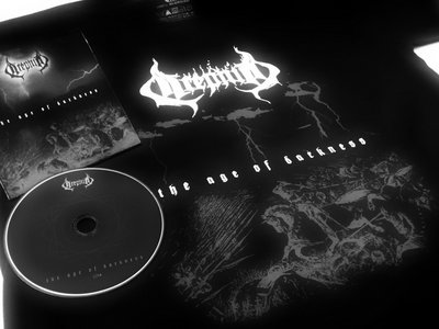 "Combo CD + t-shirt ""The Age of Darkness"" main photo"