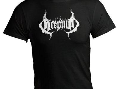 """""""Logo"""" t-shirt black main photo"""