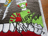 Woven Driler Killer patch photo