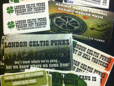 London Celtic Punks Stickers main photo