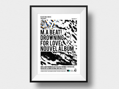 Drowning For Love - Limited A1 Print main photo